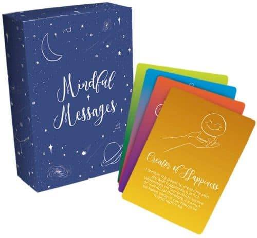 Mindful Messages Positive Affirmations Meditation Card