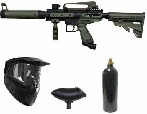Wrek Paintball Cronus Tactical Paintball Gun Package Olive